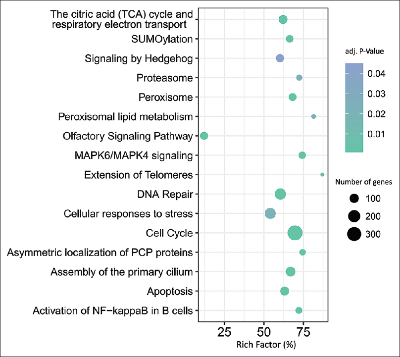 The analysis of a time-course transcriptome profile by